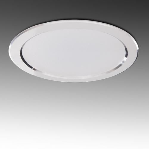 Foco Downlight LED Circular 24W 2160Lm  Corte 184mm