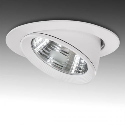 Foco Downlight LED COB Circular Orientable 40W 3200Lm