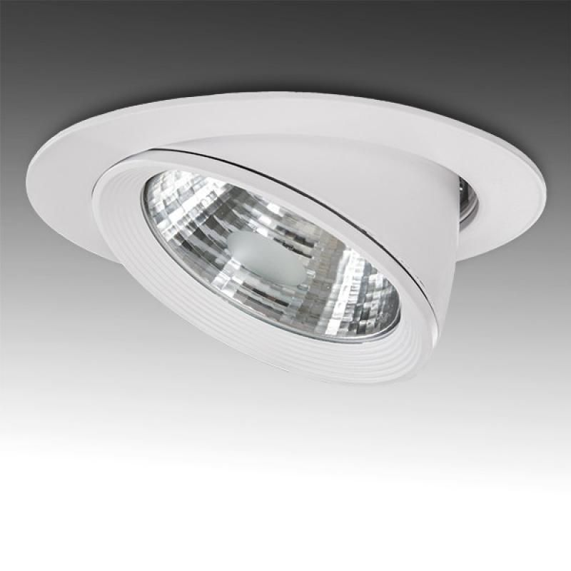 Foco Downlight  LED COB Circular Orientable 40W 3200Lm - Imagen 1
