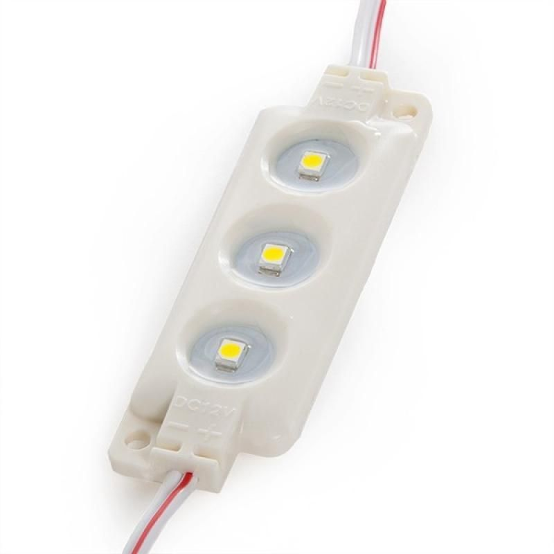 Módulo 3 LED ABS Inyectado SMD3528 0,3W - Imagen 1