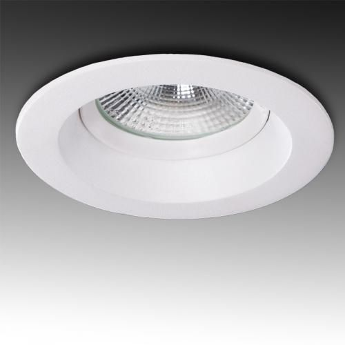 Downlight Circular LED Anti-Deslumbrante COB 9W 900Lm