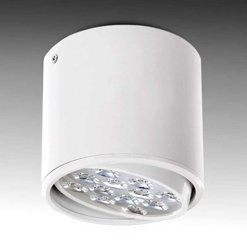 Foco Downlight  LED Superficie Blanco 12W 1200Lm - Imagen 1