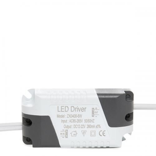 Driver No Dimable Focos/Downlights LED 6W