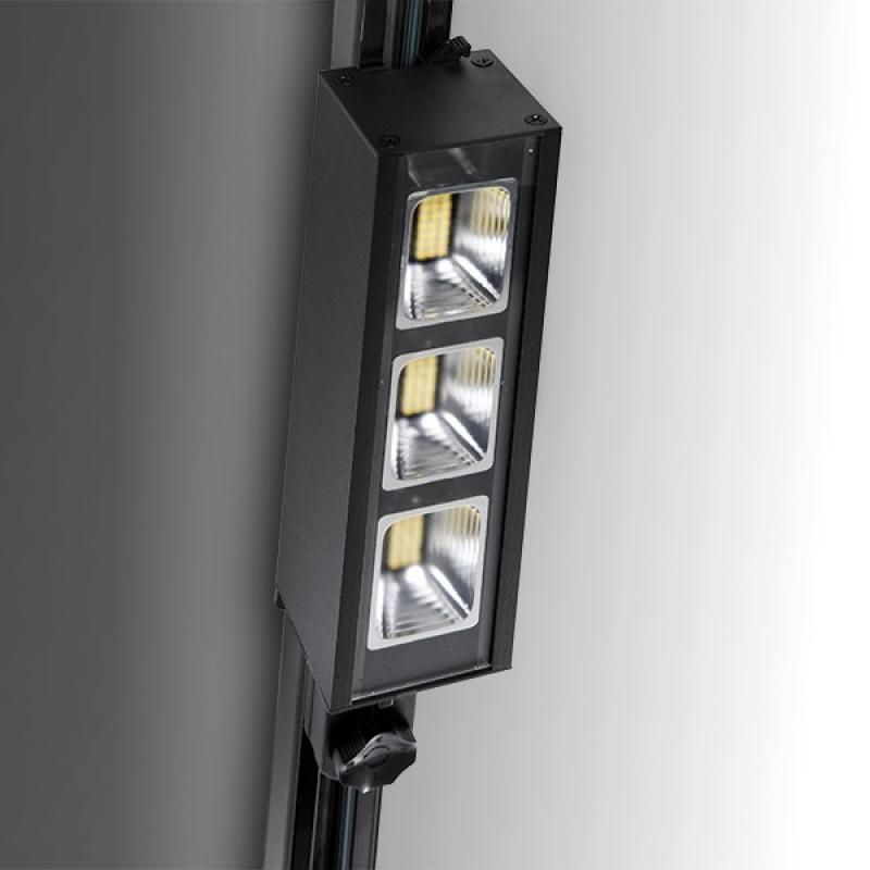 Foco Carril LED Trifásico Lineal 30W 3900Lm Epistar/Philips - Imagen 1