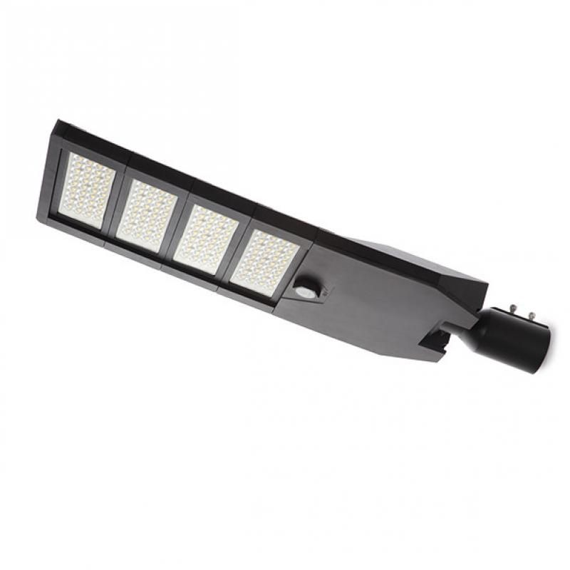 Farola LED IP66 240W 145Lm/W Cree 3030 Negro Driver Meanwell HLG - Imagen 1